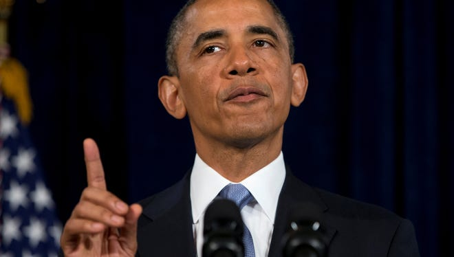 President  Obama  talks about the Affordable Care Act in San Jose, Calif. , last month.