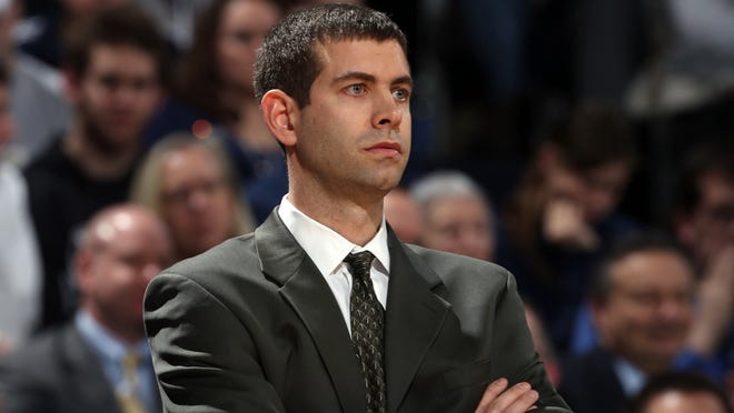 Brad Stevens led Butler to consecutive NCAA title game appearances in 2010 and 2011 in his six seasons with the school