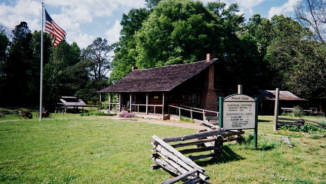 Near Natchez Trace mile marker 180 in Mississippi is the French Camp school, built on a site Louis LeFluer established in 1812.