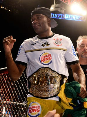 Anderson Silva defends his middleweight title Saturday at UFC 162.