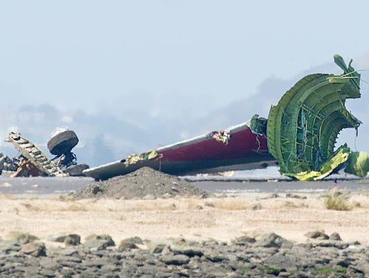 Asia Airlines San Francisco crash