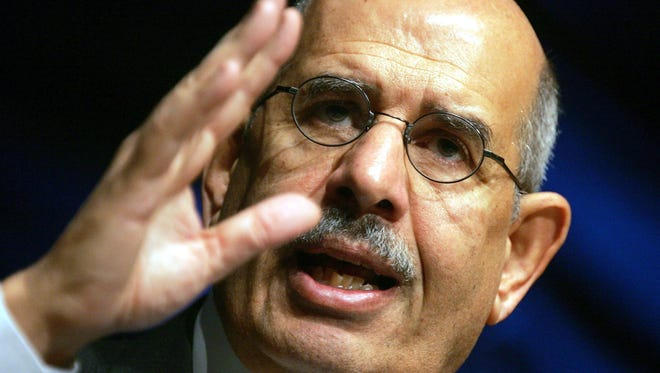 Mohamed ElBaradei is a former U.N. nuclear watchdog.
