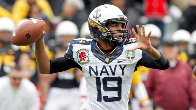 Navy ties its hopes to sophomore Keenan Reynolds, a future star at quarterback.