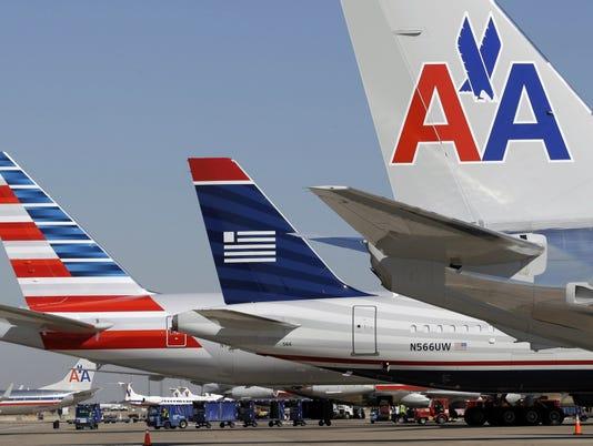 american us airways dfw