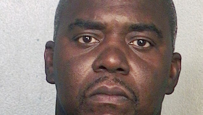 This booking photo released via the website of the Broward County Sheriff's Office shows Ernest Wallace, arrested June 28, 2013 when he surrendered at a police station in Miramar, Fla.  Authorities had been seeking Wallace on a charge of acting as an accessory after the murder of Odin Lloyd on June 17 in North Attleborough, Mass. Former New England Patriots football player Aaron Hernandez has been charged with Lloyd's murder.