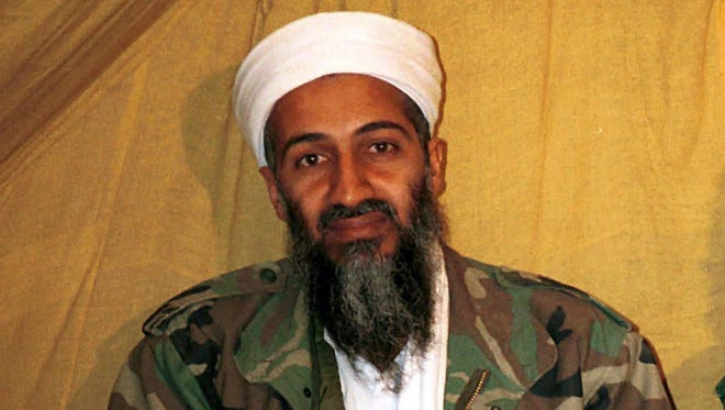This undated file photo shows al Qaeda leader Osama bin Laden in Afghanistan.