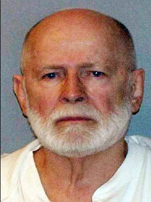 "This 2011 booking photo provided by the U.S. Marshals Service shows James ""Whitey"" Bulger, who fled Boston in 1994 and wasn't captured until 2011 in Santa Monica, Calif."