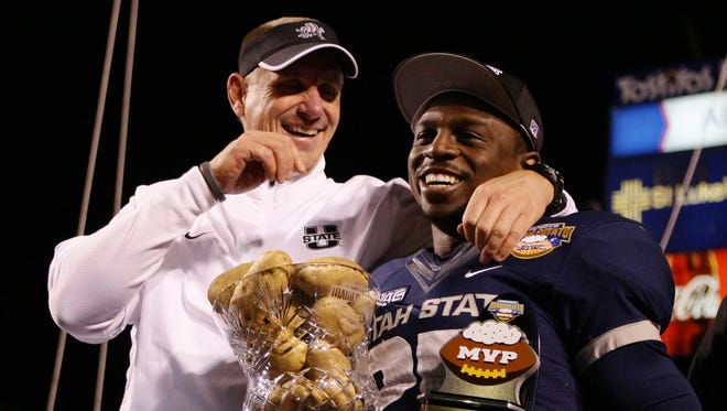 Utah State will look to thrive in a new league without coach Gary Andersen and running back Kerwynn Williams.