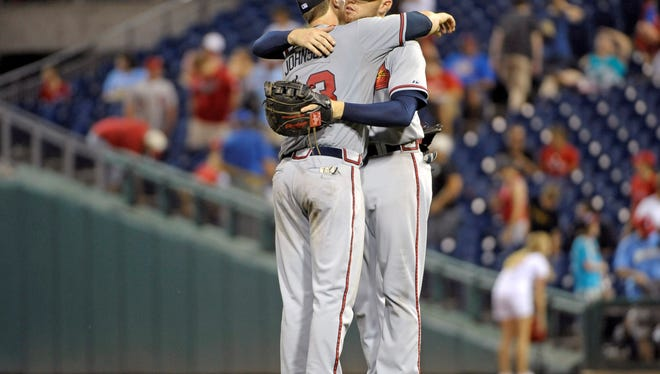 Freddie Freeman has his teammates' support in the Final Vote competition against Yasiel Puig and others.
