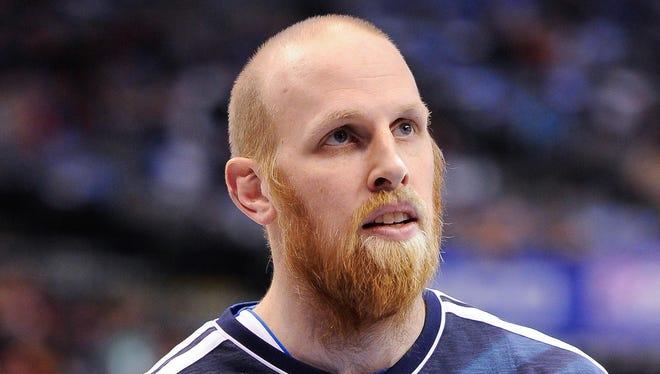 Chris Kaman spent last season with Team Germany teammate Dirk Nowitzki and the Mavericks.