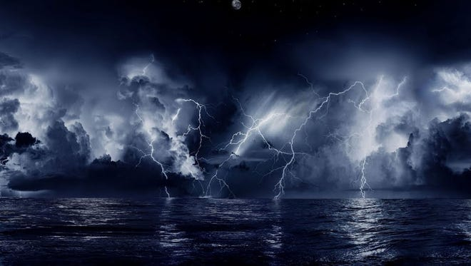 Catatumbo lightning, Catatumbo River, Venezuela: In this northwest corner of Venezuela, the rate of lightning strikes is higher than anywhere else on Earth. The jaw-dropping light show occurs up to 300 nights a year at the mouth of the Catatumbo River where the water empties into Lake Maracaibo.