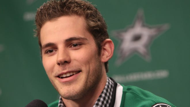 Tyler Seguin is introduced as a new member of the Dallas Stars.