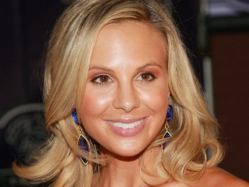 Television personality Elisabeth Hasselbeck attends the Breeders' Cup ...