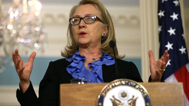 Hillary Clinton is the subject of an upcoming NBC miniseries.