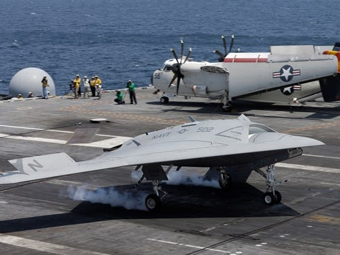 Navy Aircraft Carrier Crashes http://www.postcrescent.com/usatoday ...