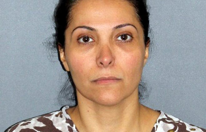 Meshael Alayban, who was arrested July 9 in Irvine,  Calif., for allegedly holding a domestic servant against her will.