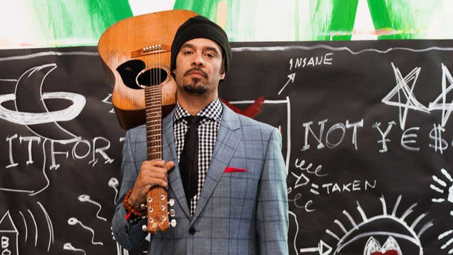 "Michael Franti asked fans to submit videos of themselves for use in a clip for his new single ""I'm Alive (Life Sounds Like)."""