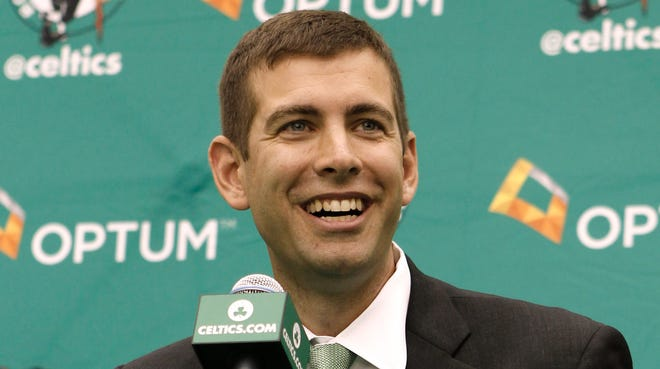 An NBA general manager that Doc Rivers would not name, wanted to gauge Brad Stevens' interest in leaving the college game. The Celtics hired Stevens to replace Rivers, who left for the Clippers.