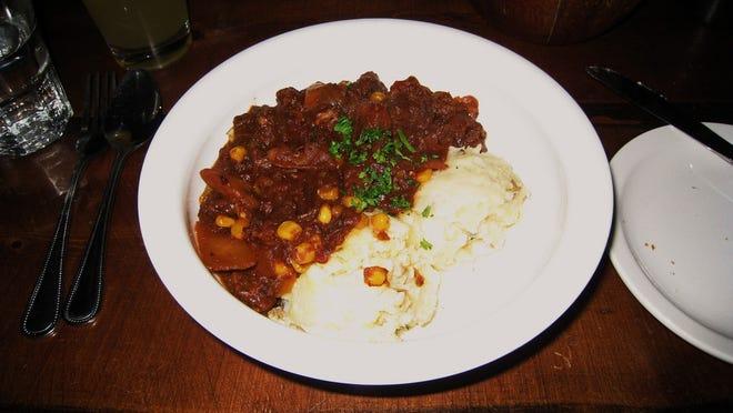 The origin of its odd name is unknown, but burgoo's taste is similar to Irish stew.