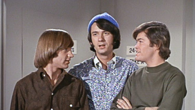 The Monkees, from left: Peter Tork, Michael Nesmith, Mickey Dolenz