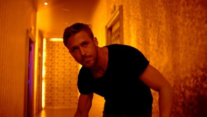 Ryan Gosling plays Julian, a drug smuggler, in the violent crime drama 'Only God Forgives.'