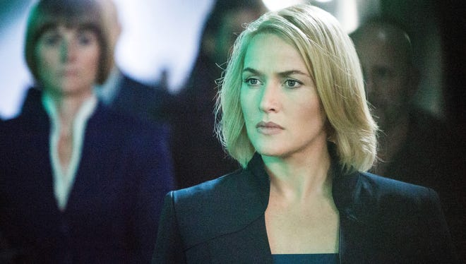 Kate Winslet stars as a menacing group leader  in 'Divergent.'