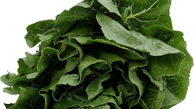 Spinach is a popular ingredient in green smoothies.
