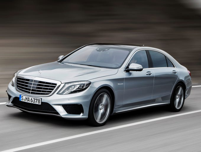 The 2014 Mercedes-Benz S63 AMG 4Matic, an ultra-performance version of the ultra-luxury sedan.