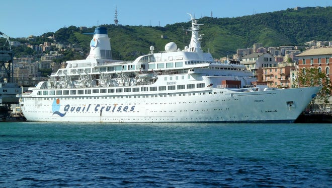 """Tucked away in the San Giorgio del Porto shipyard at Genoa, Italy, one of the most important ships in the history of the cruise industry silently awaits its fate. That vessel, now called the Pacific, is fondly known for its 27-year career with Princess Cruises as well as being television's original """"Love Boat."""""""