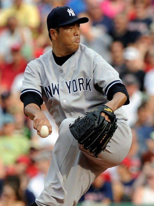 2013-07-20 Hiroki Kuroda Yankees