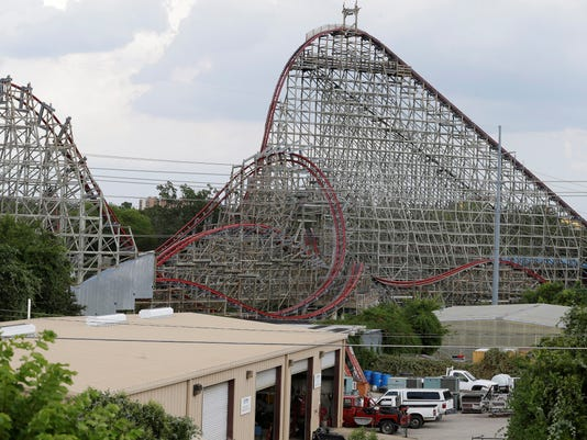 Texas roller coaster can't reopen until it's reinspected