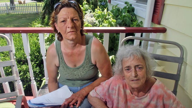 Susan Hassert, right, of New York, spent several months earlier this year in a rehabilitation facility as she battled chronic obstructive pulmonary disease. She has since received about $22,000 in bills for expenses that she and her friend, Julie Roussell, left, said have been mostly covered by Medicare.