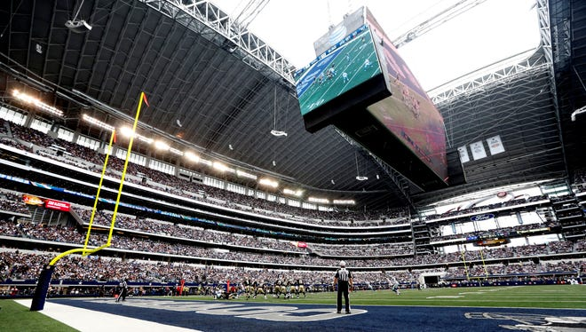 The Cowboys are entering their fifth season in the facility soon to be known as AT&T Stadium.