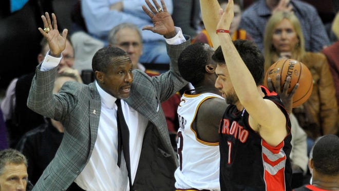 Toronto Raptors head coach Dwane Casey will be joined by assistant coaches Bill Bayno and Jesse Murmeys.