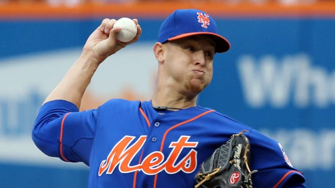 Zack Wheeler beat the Braves for the second time in seven starts and earned his first win at home.