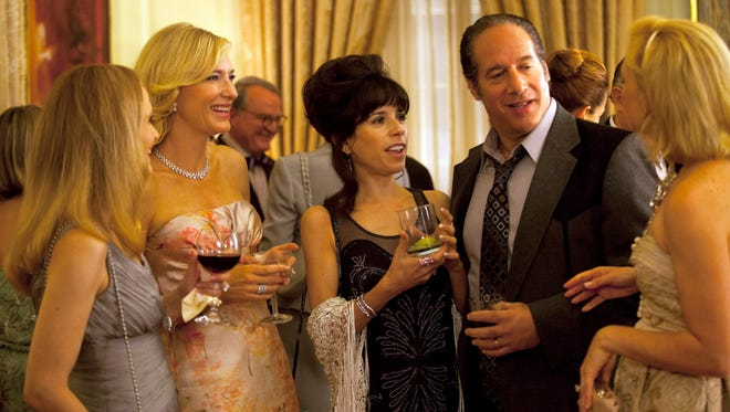 Cate Blanchett, Sally Hawkins and Andrew Dice Clay in Woody Allen's 'Blue Jasmine.'