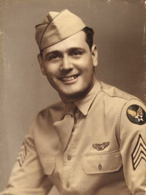 This undated handout photo provided by the family, shows World War II airman Sgt. Dominick Licari, whose remains were identified nearly 70 years after his plane and two others slammed into a remote, jungle-covered mountainside in the South Pacific.