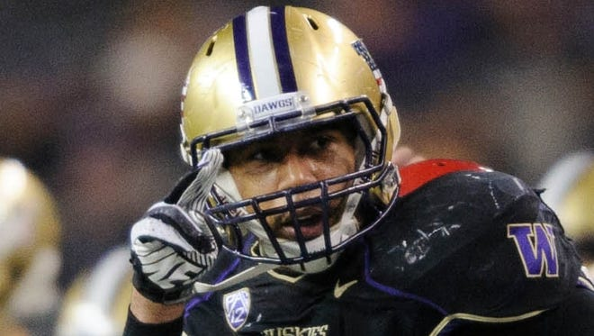 Washington tight end Austin Seferian-Jenkins (88), an AP third-team All-American last season, will spend Wednesday in jail for an offseason DUI conviction but will rejoin the Huskies for their first practice.