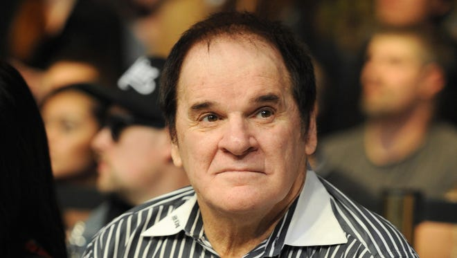 "Pete Rose says he is not aware of anybody who used steroids during his career. ""I know nobody that played with me took steroids. I played with 11 Hall of Famers and played against 52 Hall of Famers, and I don't know any of them linked to steroids."""