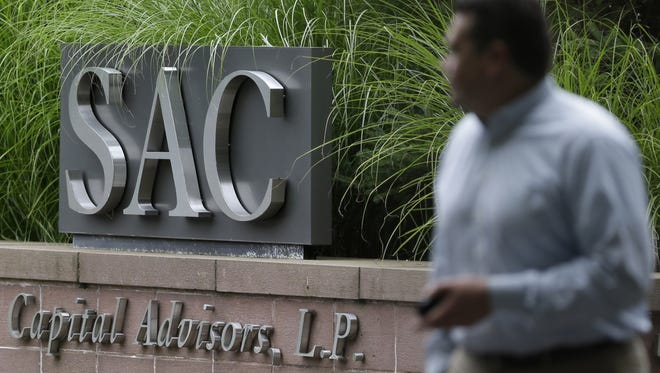 A sign is displayed in front of SAC Capital Advisors headquarters in Stamford, Conn.