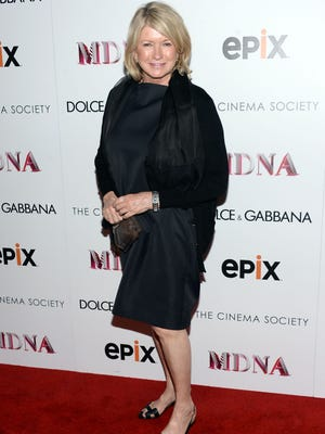 Martha Stewart says a good diet gives her energy.