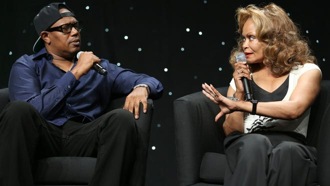 Master P, rapper and entrepreneur, and Janice Bryant Howroyd, CEO of Act-1 Personnel Services, at a BET seminar in Los Angeles in June.