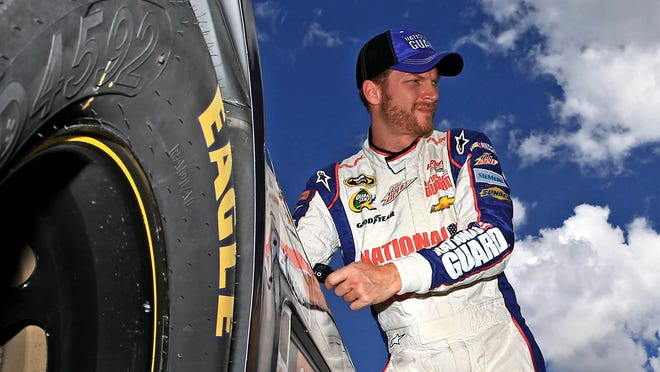 Dale Earnhardt Jr. finished sixth in Sunday's Samuel Deeds 400 at the Brickyard.