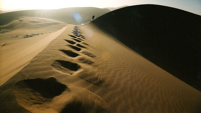 Namibia: Ancient Sands -- There are only a few places in the world where you can discover pristine landscapes on foot, without a marked trail, where you can sleep out under the stars, and Namibia's NamibRand Nature Reserve is one of them. The 200,000-hectare sanctuary hosts a number of guided walking safaris across sand dunes and lunar desert landscapes—or you can take a hot-air balloon tour above them. Sand skiing is starting to be developed here, along with sand boarding, hiking (the rim of the second biggest canyon on Earth is a popular trail), kayaking, and visiting the UNESCO World Heritage site at Twyfelfontein, which is said to hold the highest concentration of Bushmen paintings found in a single area in southern Africa.