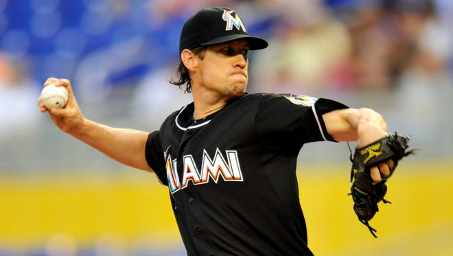 Kevin Slowey is 3-6 with a 4.11 ERA in 20 games, making 14 starts in his first year with the Marlins.
