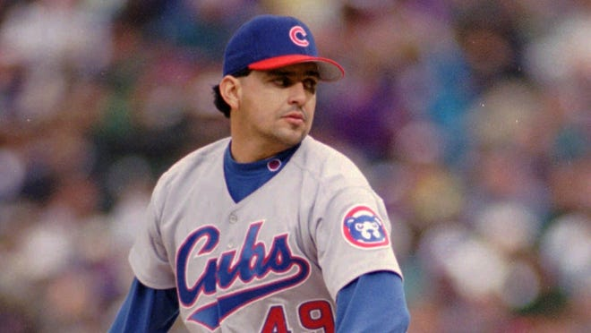 Frank Castillo pitched for the Chicago Cubs, Colorado, Detroit, Toronto, Boston and Florida from 1991 to 2005.