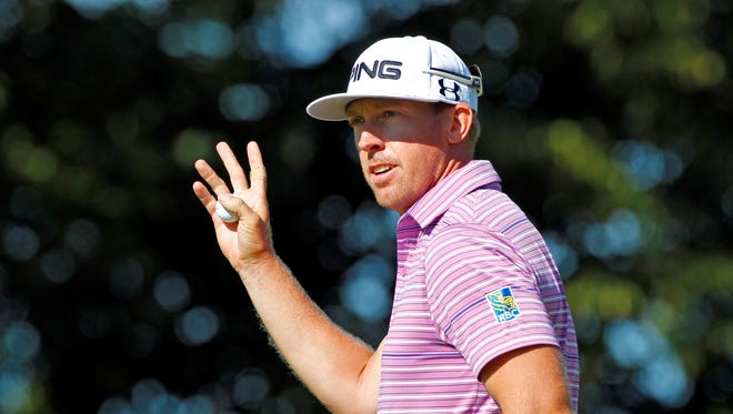 Hunter Mahan has withdrawn from the WGC-Bridgestone Invitational.