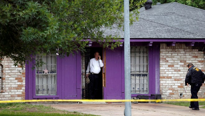 One of three men held against their wills and found in this Houston, Texas home earlier this month passed away last Thursday.