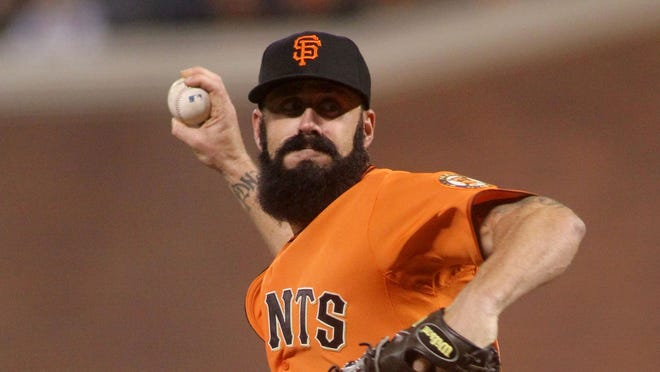 Brian Wilson was one of the majors' top relievers from 2008-11 with the San Francisco Giants.