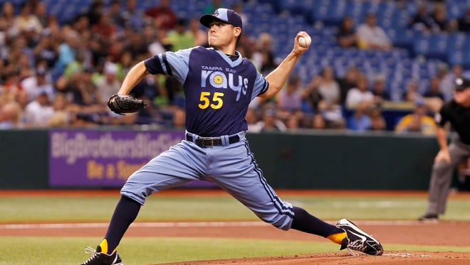 July 29: The Rays placed starting pitcher Matt Moore on the 15-day DL with soreness in his left elbow.